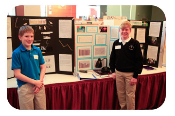 finished science fair projects for high school