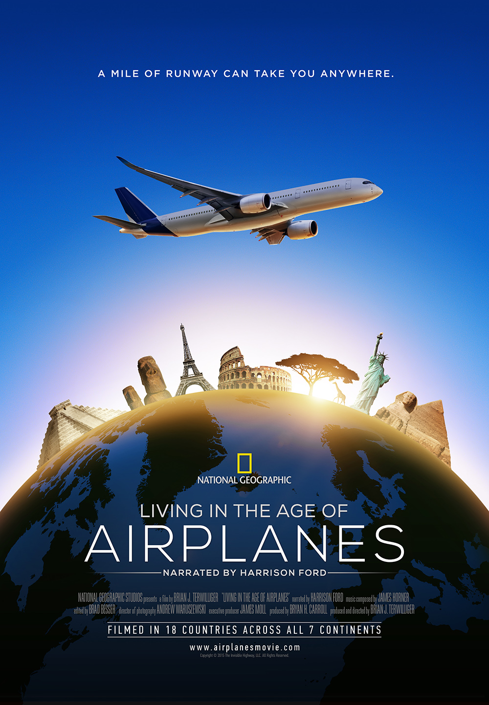 Living in the Age of Airplanes 3D movie