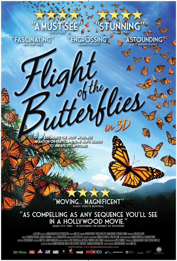 Flight of the Butterflies 3D movie